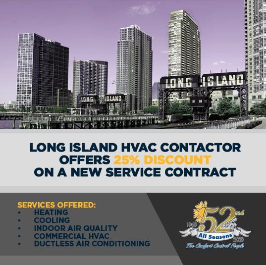 Long Island HVAC promo